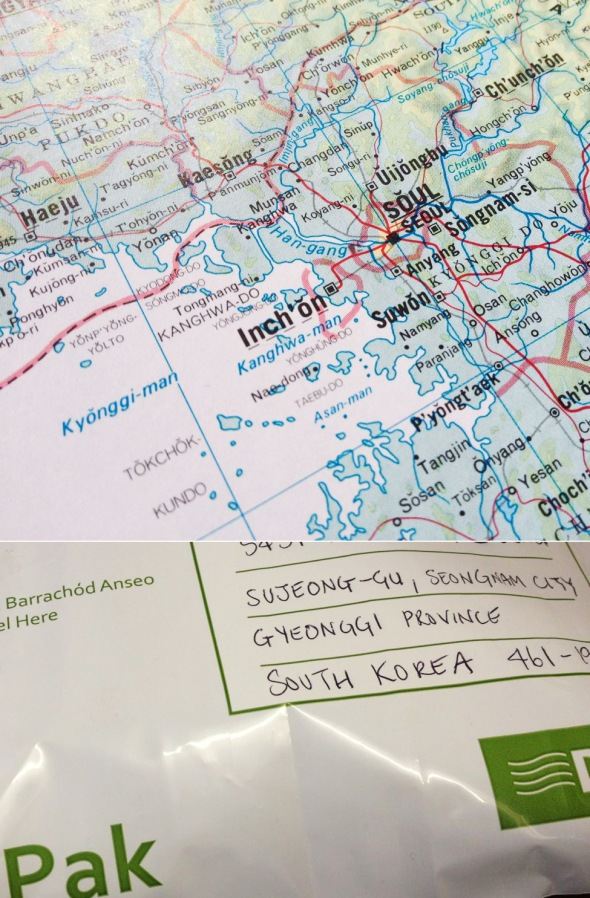From the Kinnegar to South Korea