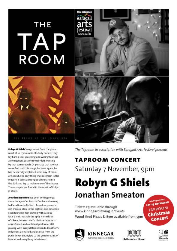 KB Taproom Concert_7 November REV
