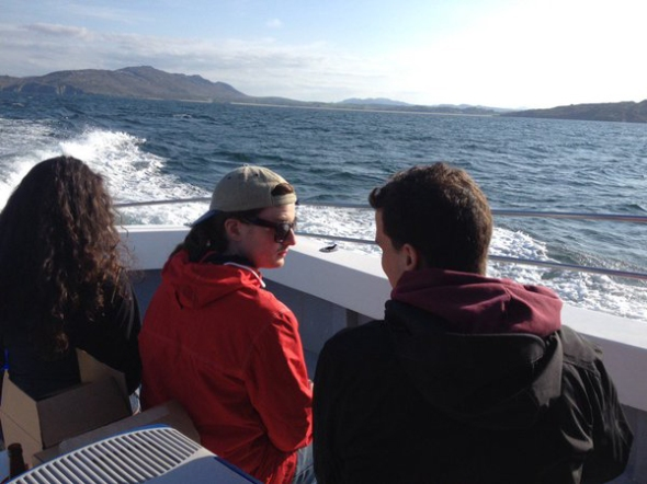 Boat Trip Through Kinnegarland